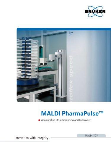 MALDI PharmaPulse HTS