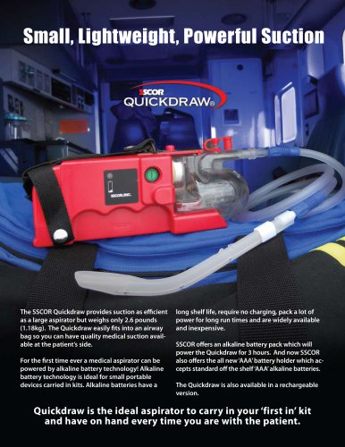 Quickdraw® Suction