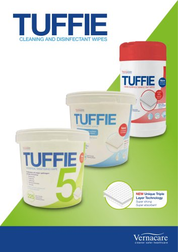 Tuffie Cleaning And Disinfectant Wipes