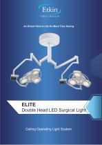 ELITE SERIES DOUBLE HEAD SURGICAL LIGHT