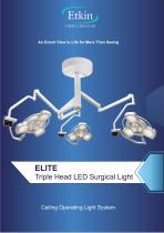 ELITE SERIES TRIPLE HEAD SURGICAL LIGHT