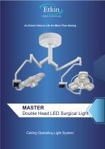 MASTER SERIES DOUBLE HEAD SURGICAL LIGHT