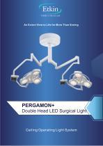 PERGAMON+ SERIES DOUBLE HEAD SURGICAL LIGHT