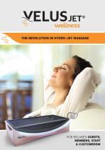 VelusJet wellness brochure