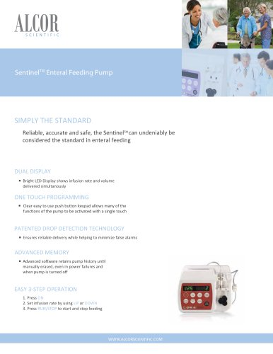Sentinel Entera Feeding pump