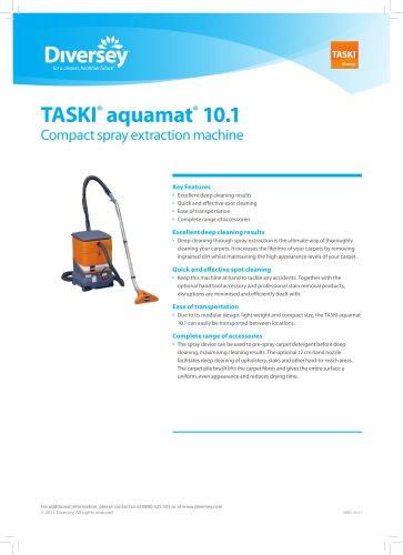 TASKI® aquamat® 10.1