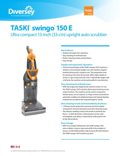 TASKI® swingo 150 E