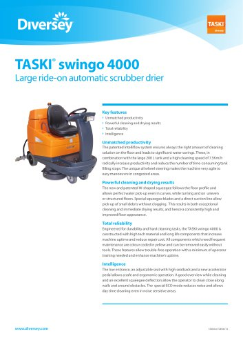 TASKI ® swingo 4000