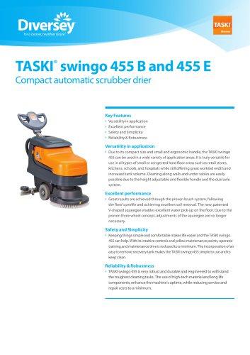 TASKI® swingo 455 B and 455 E