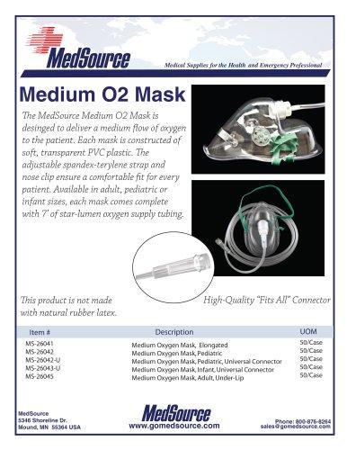 Medium O2 Mask