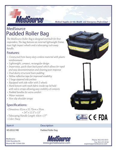 Padded Roller Bag
