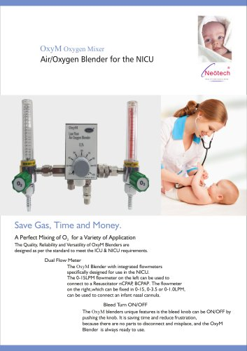 Air Oxygen Blender for the NICU
