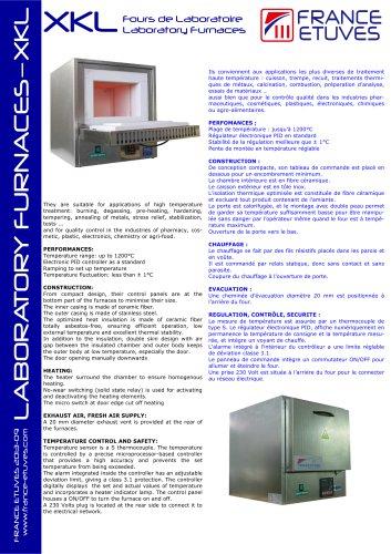 Laboratory Furnaces