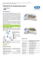 Multi Bio RS-24, Programmable rotator
