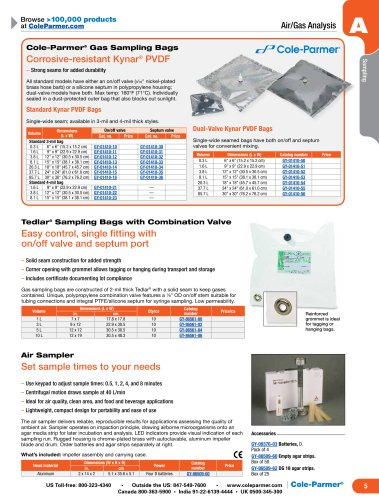 Air/Gas Analysis