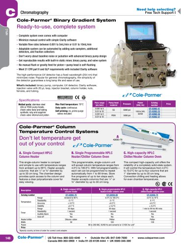 COLe-Parmer® Binary Gradient System