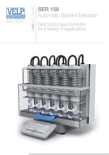 SER 158 Automatic Solvent Extractor