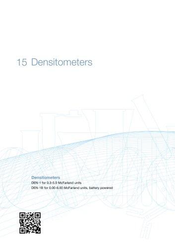 DEN-1 & DEN-1B Densitometer