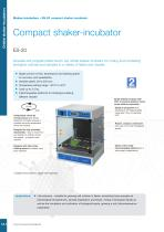 ES-20 Shaker-incubator