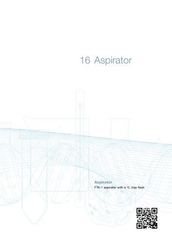 FTA-1 Aspirator with trap flask
