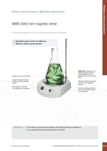 MMS-3000 Magnetic Stirrer