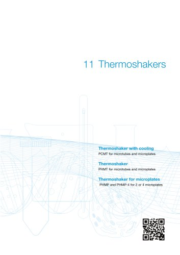 PCMT Thermoshaker with Cooling for Microtubes and Microplates