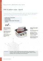 PMR-100 platform rocker ? adjustable tilt