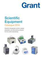 Scientific Catalogue 2016