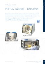 UVC/T-M-AR PCR UV Cabinet
