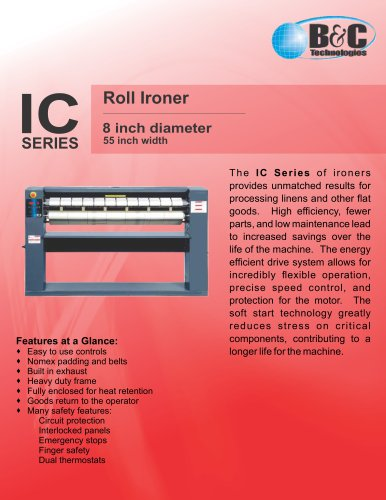 IC SERIES Roll Ironer