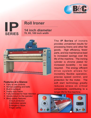 IP Series Commercial Ironer