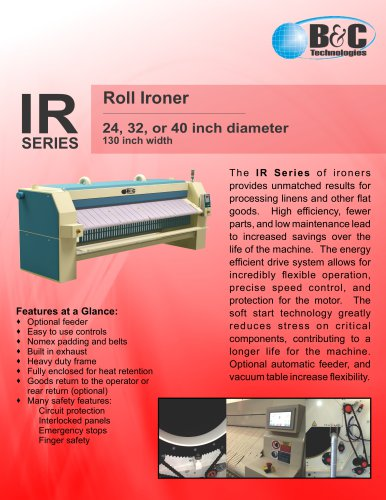 IR SERIES Roll Ironer