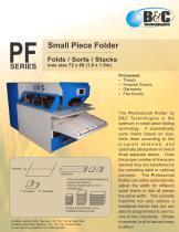 PF Series Commercial Folder - 1