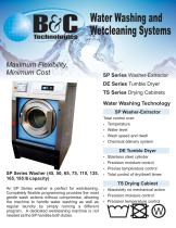 Water Washing and Wetcleaning Systems