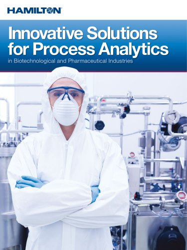 Innovative Solutions for Process Analytics in Biotechnological and Pharmaceutical Industries