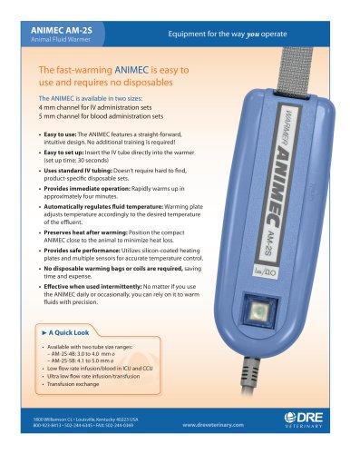 Animec AM-2S Fluid Warmer