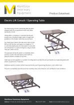 Scissor Lift Consult Table