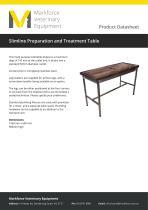 Slimline Preparation and Treatment Table