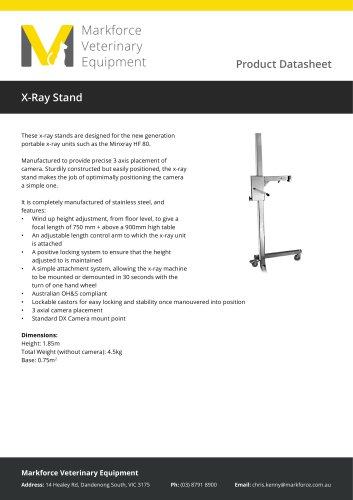 X-Ray Stand