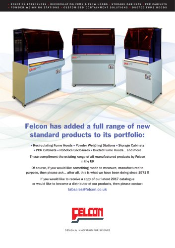 Felcon New to 2017