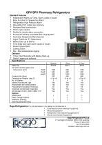 GPV/SPV Pharmacy Refrigerators - 2