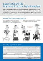 Cutting Mill SM 400 - 2