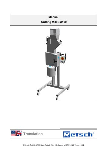 Cutting Mill SM100