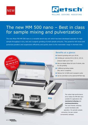 MM 500 nano