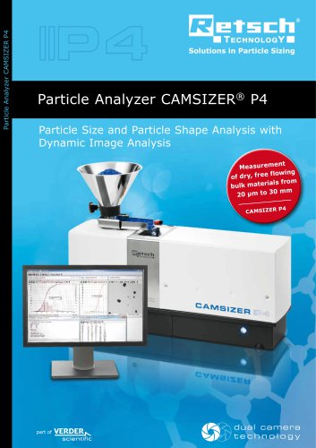 Particle Analyzer CAMSIZER ®  P4