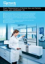 Particle Analyzer CAMSIZER ®  P4 - 2