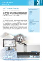 Particle Analyzer CAMSIZER ®  P4 - 4