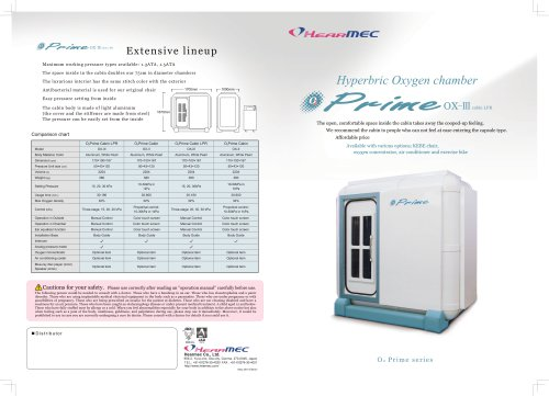 Hyperbaric Cuboid Chamber