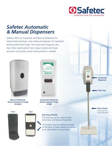 Instant Hand Sanitizer Manual Dispenser (Fresh Scent)
