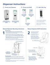 Instant Hand Sanitizer Manual Dispenser (Fresh Scent) - 3